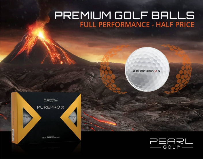Banner Golfball Pure Pro X